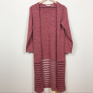Soft Surroundings | Red Duster Cardigan Sweater